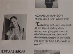 Az'haela's picture in the brochure