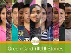 Green Card Youth Voices Exhibit