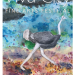 Flyer for Viva City with an ostrich walking across water color background